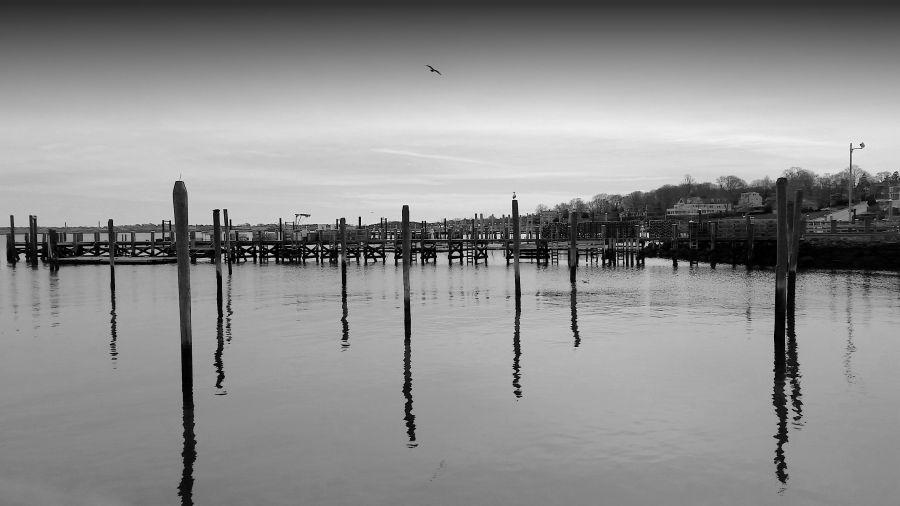 Jamestown Harbor - www.jessicamcollette.com